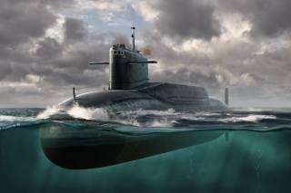 atomic, underwater, boat, тип 092, China