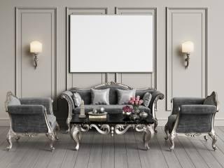 luxury, interior, furniture, bathroom, vase, flowers, rose, orchids, lamp
