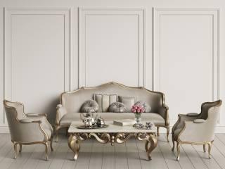 розкіш, інтер'єр, меблі, кімната, ваза, квіти, троянди, чайный, сервиз