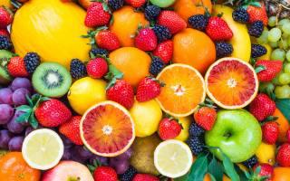 свіжі, ягоди, фрукти, фрукти, ягоди