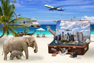 світ, земля, подорожі, фотошоп