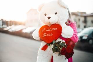 ведмеді, іграшка, серце