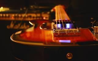гитара, вблизи