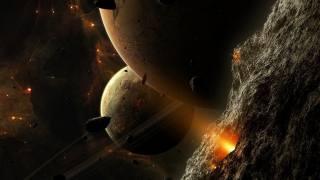 vesmír, планета звезды, asteroidy