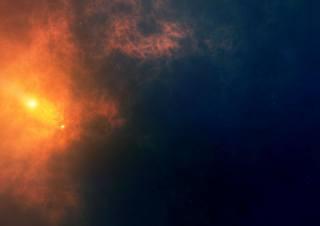 туманність, космос, зірки, світло, всесвіт