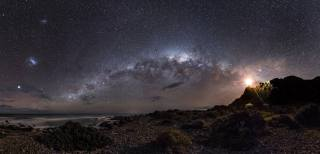 Галактика, небо, космос, зірки