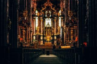 алтарь, дом, собор, часовня, вера, здание