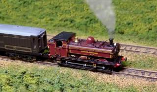 паровоз, локомотив, пар, модель