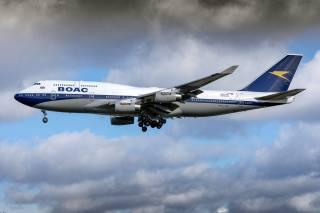 airliner, Boeing 747-400, flight