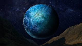 космос, зірки, планета