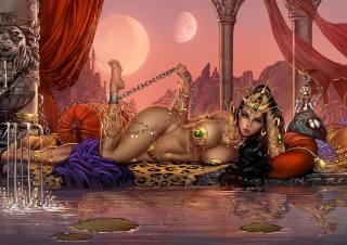 fantasy girl, fantasy art, Dejah Thoris