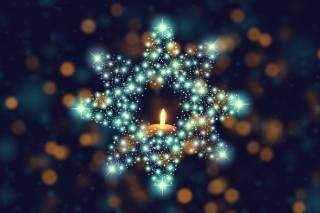 зірка, Свічка, боке