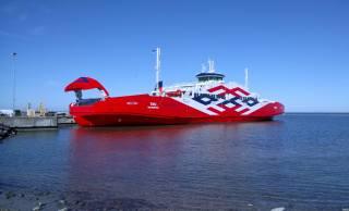 sea, Pier, паромный, ship