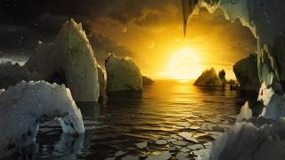 Екзопланета, океан, лід