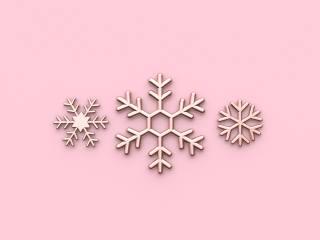 новий, рік, зима, сніжинки, фон, прикраси, рожевий, нові, рік, зима, сніжинки, Фон, рожевий