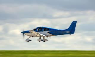 the plane, small, aviation, landing