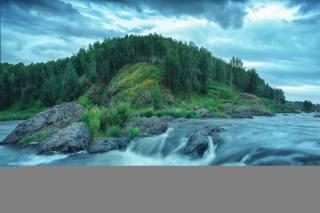 порог, река, фото, Николай Шевченко