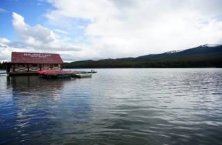 Малайн, озеро, канада