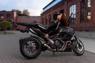 ducati, motorcycle, the bike, наталья зайцева, model, илья пистолетов