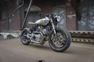 yamaha, XV920, motorcycle