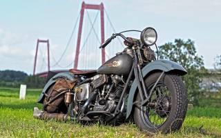 Harley Davidson, motorcycle, retro