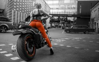 motorcycle, girl, Model, blonde, city, road, Ass, jeans, Legs, women, Cars, sexy, hot, cute