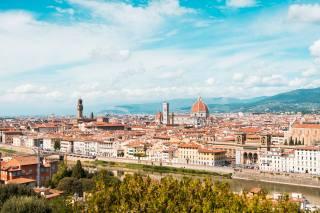 Флоренція, Італія, собор, вдома, Duomo S, Maria del Fiore, місто