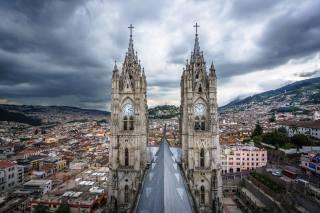 вдома, церква, Еквадор, Quito, башта, місто, фото, місто, будівлі