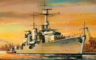 Лейпциг, легкий, крейсер, Німеччина