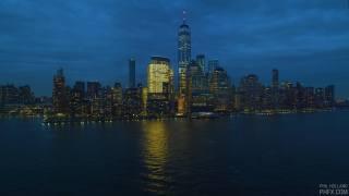 Нью-Йорк, вечір, місто