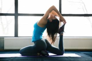 фитнес, гимнастика, йога