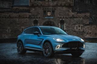 Aston Martin, car, lights