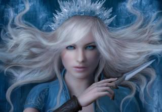 сніжна Королева, корона, лід