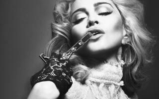 Мадонна, мадонна, певица