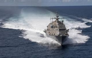 Детройт, литоральный, боевой, корабль, ВМС