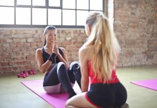 фитнес, тренировка, спорт, девушки