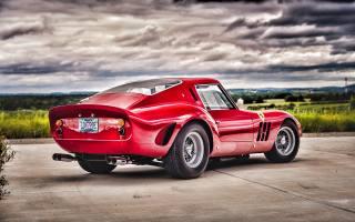 ferrari, 250, gto, Retro, HDR, 1963, Cars, supercar