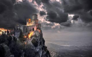 Обои Замок, mystery