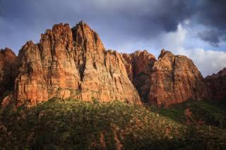 Utah, canyon, Зайон, rock, mountains, reserve