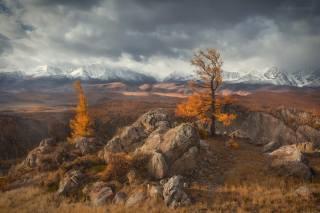 гори, осінь, краєвид, фото, Ирина Абатурова