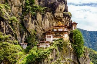 монастир, Taktsang-lakhang, Bhutan, скеля, скеля, природа