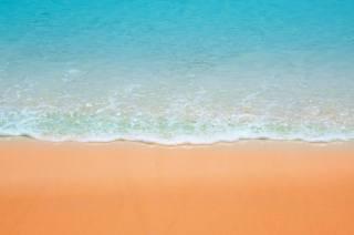 океан, прибій, пляж, пісок, заставка