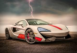 McLaren, заставка, фон, суперкар