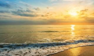 surf, the ocean, the sky