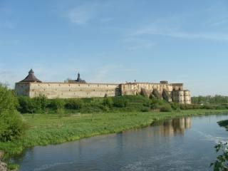 city, Меджибіж, the fortress