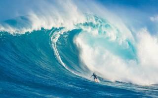 серфінг, хвиля