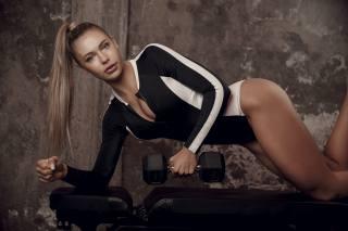 спортсменка, позує, модель, jutta leerdam, конькобежный спорт