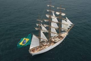 cisne branco, вітрильник, Прапор, Бразилія