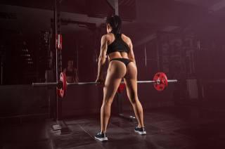 дівчина, спорт, фітнес, атлетика