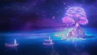Sci-fi, mystika, holka, загробный, svět, loď, небытие, duch, duše, Duch, привидение